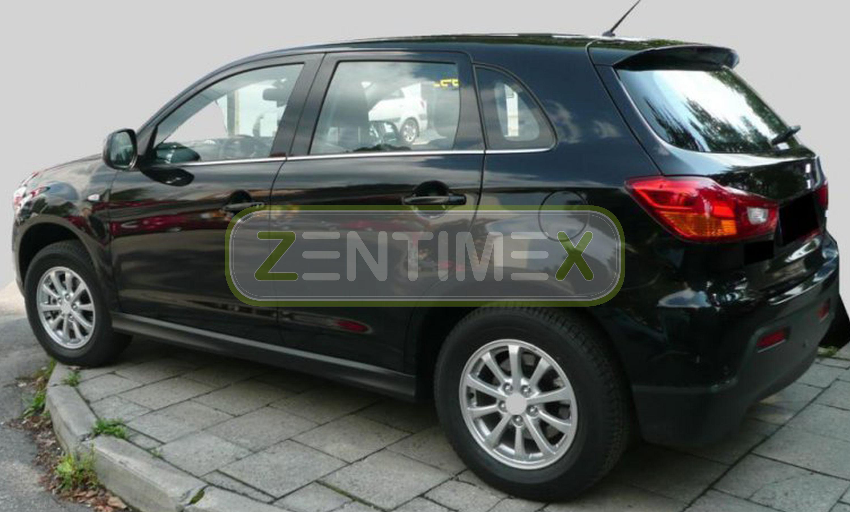 Geriffelte Kofferraumwanne für Mitsubishi ASX Top 4WD Facelift Steilheck Gelände