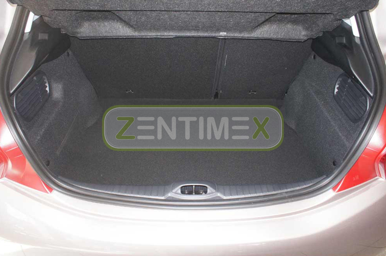 Geriffelte Kofferraumwanne für Peugeot 208 Allure Schrägheck Hatchback 3-türer 2
