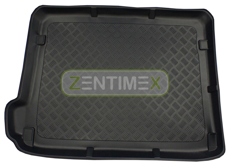 Geriffelte Kofferraumwanne für Citroen C4 Selection 2 Typ N Facelift Schrägheck
