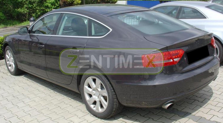 Geriffelte Kofferraumwanne für Audi A5 Sportback 8TA Facelift Schrägheck Hatchba