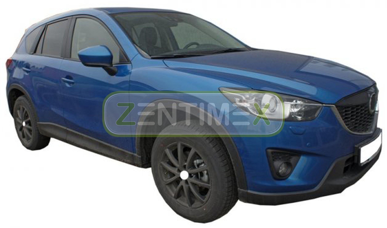 Geriffelte Kofferraumwanne für Mazda CX-5 CX 5 CX5 Exclusive-Line 1 KE Facelift
