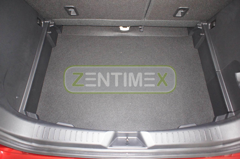 Ondulée Tapis Baignoire Pour Mazda cx-3 CX 3 cx3 Center-Line Hayon intensifiées 4d