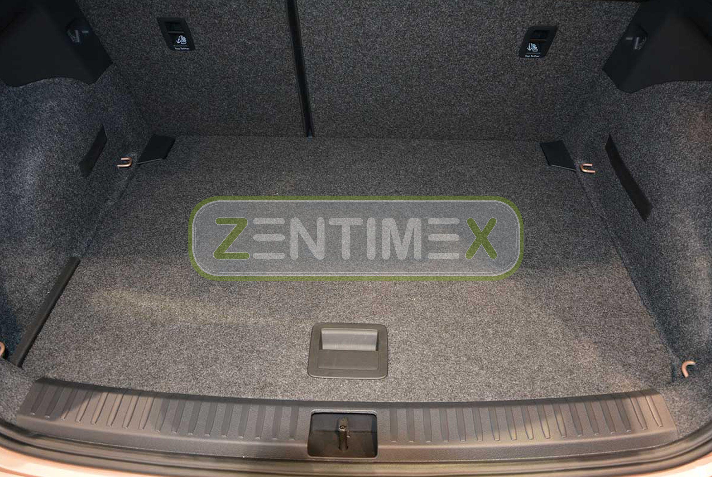 Geriffelte Kofferraumwanne für Seat Arona Steilheck Geländewagen SUV 5-türer 201