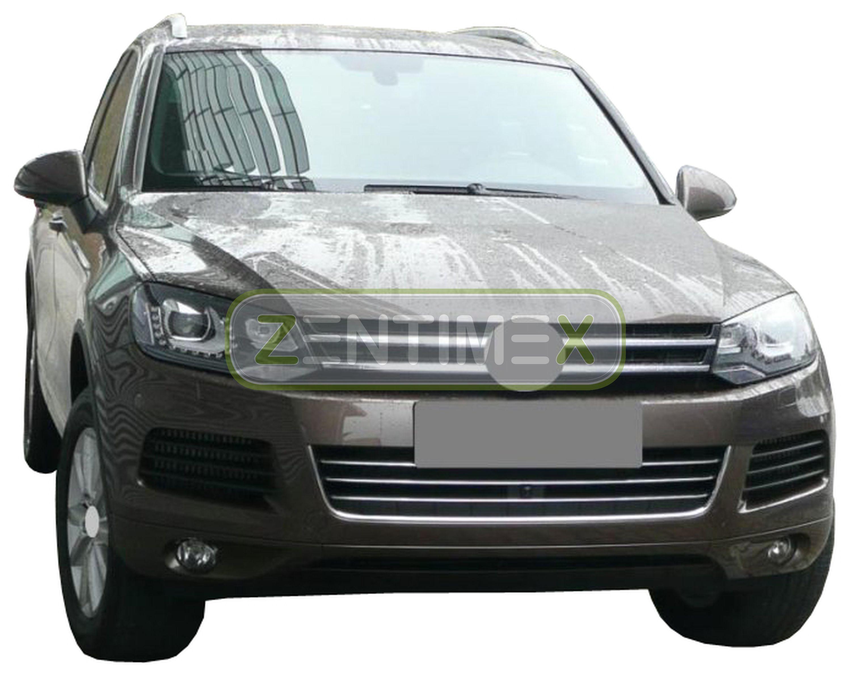 Geriffelte Kofferraumwanne für VW Volkswagen Touareg Exclusive 2 Steilheck Gelän