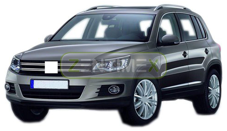 Zigrinati TAPPETINO VASCA PER VOLKSWAGEN TIGUAN 1 BERLINA FUORISTRADA SUV 2b