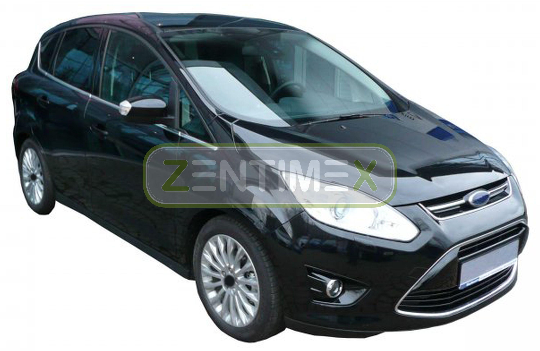Geriffelte Kofferraumwanne für Ford C-MAX CMAX C MAX 2 Vor-Facelift Van Kombi 42