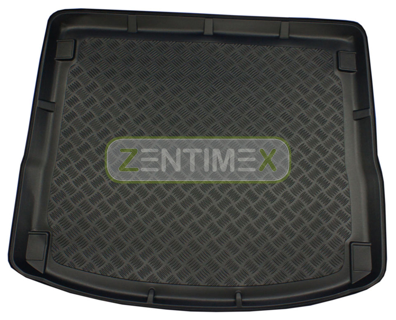 Geriffelte Kofferraumwanne für Ford Focus Business 3 Facelift Turnier Kombi 5-tü