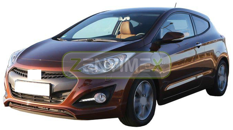 Zigrinati TAPPETINO VASCA PER KIA PRO CEE /'D CEED 2 JD posteriore acciaio per Hatchback 3-3e