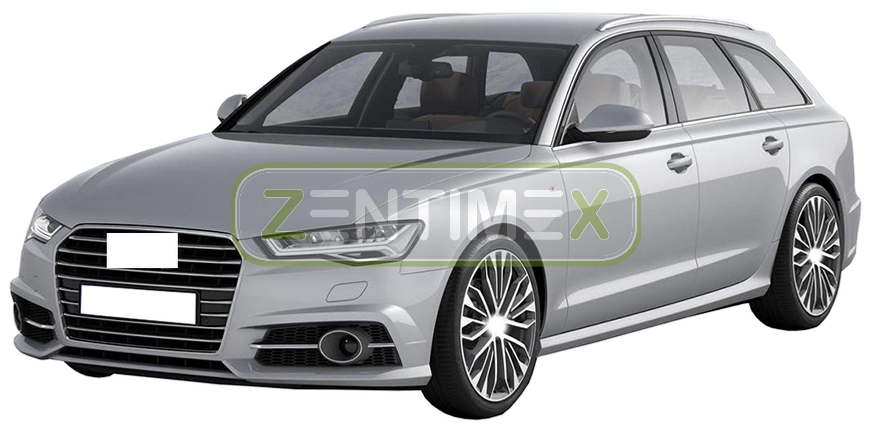 Geriffelte Kofferraumwanne für Audi A4 Design Quattro B9 8W5 Avant Kombi 5-türer