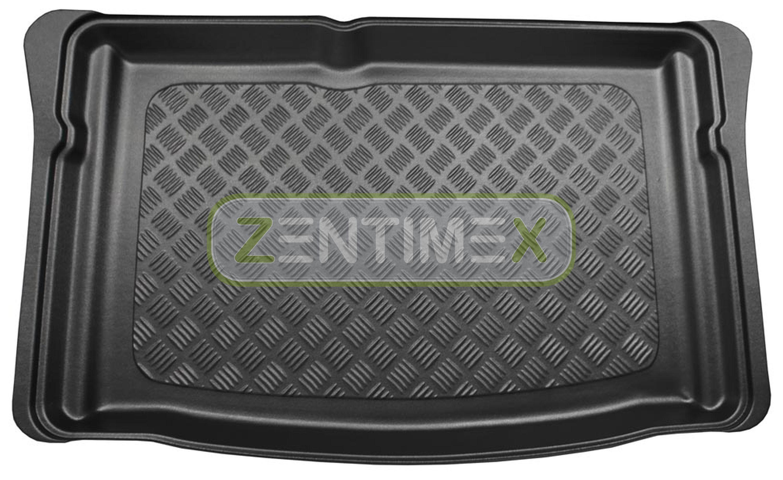 Geriffelte Kofferraumwanne für Skoda Citigo Schrägheck Hatchback 3-türer 2011 v