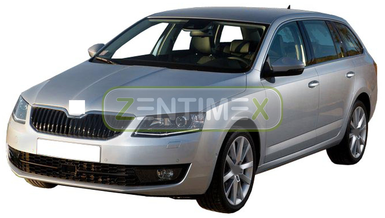 Geriffelte Kofferraumwanne für Skoda Octavia Combi RS 3 5E Kombi 5-türer 2013 o