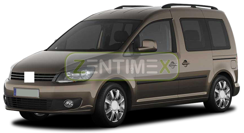 Ondulée Tapis Baignoire pour Volkswagen Caddy Maxi 2k Facelift HOCHDACH Kombi 2 C