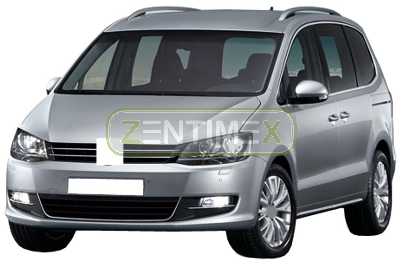 Geriffelte Kofferraumwanne für Seat Alhambra 2 Van Kombi 5-türer 2010-7Sitze 35