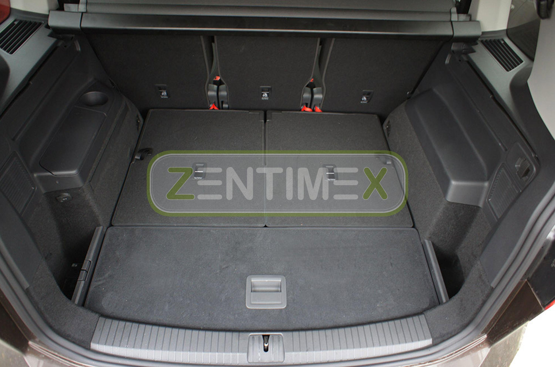 Geriffelte Kofferraumwanne für VW Volkswagen Touran Highline 2 5T1 Van Kombi 535
