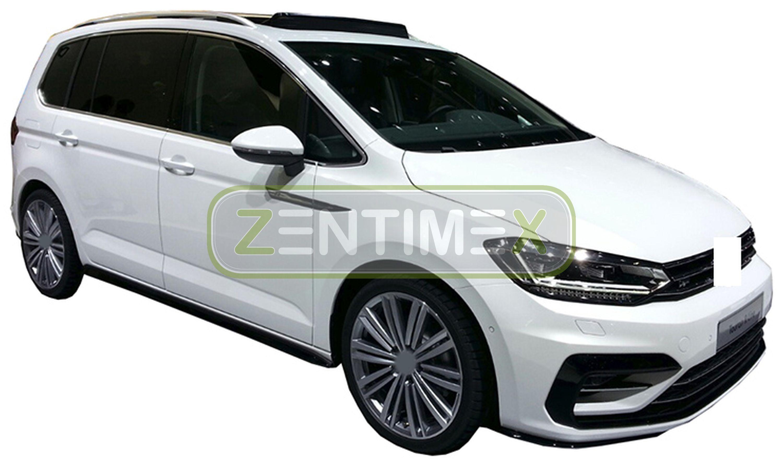 Geriffelte Kofferraumwanne für Volkswagen Touran Comfortline 2 5T1 Van Kombi 558