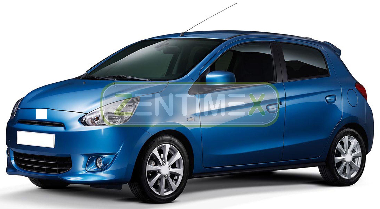 Geriffelte Kofferraumwanne für Mitsubishi Space Star Facelift Schrägheck Hatchba