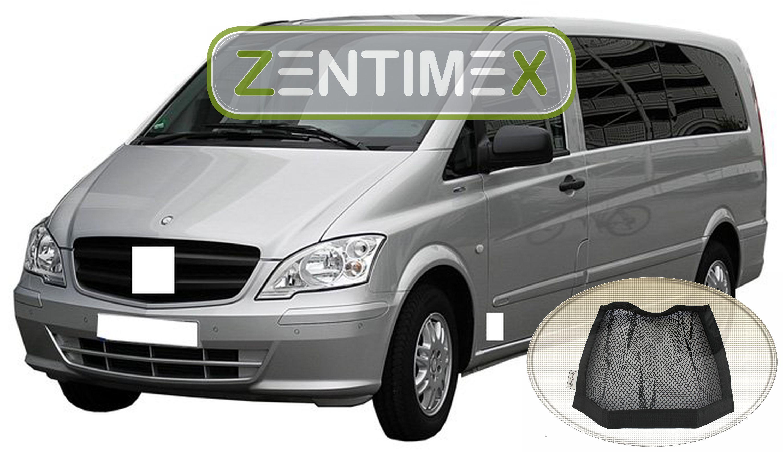 Netztasche für  Mercedes Vito W639 W 639 Facelift Kombi 25 Kofferraumwanne TPE
