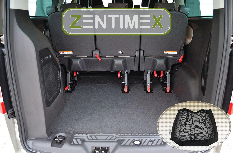 Netztasche für  Ford Tourneo Custom Kleinbus 2012 Kofferraumwanne TPE lange61