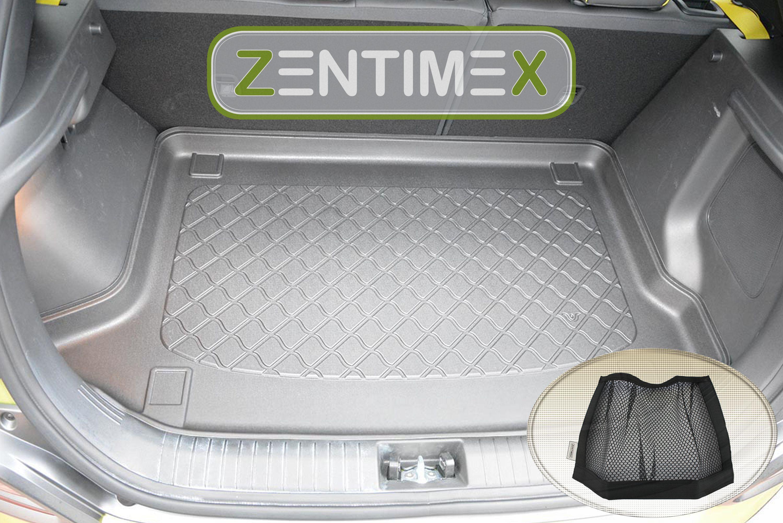 Netztasche für  Hyundai Kona Style OS Steilheck Geländew45 Kofferraumwanne TPE