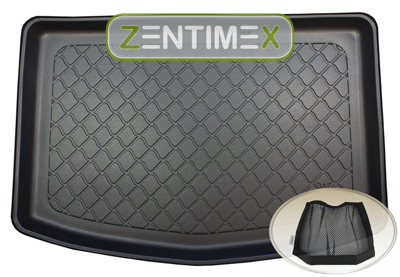 Netztasche für  Toyota Yaris Hybrid 3 XP13 Facelift Schr3B Kofferraumwanne TPE