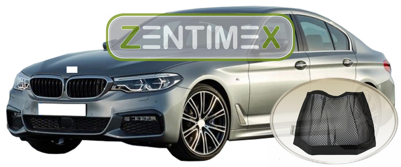 Kofferraumwanne TPE Netztasche für  BMW 5er G30 Exklusiv Paket Limousine Stu4B