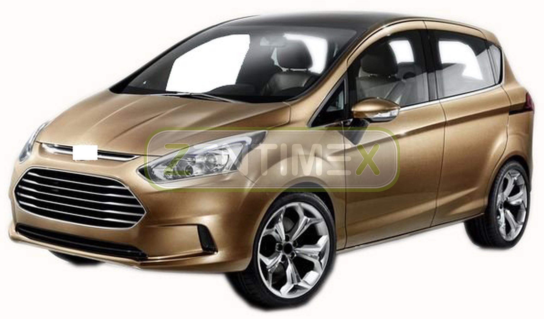 Kofferraumwanne für Ford B-Max Van Kombi 5-türer 2012 vertiefte Ladefl untere
