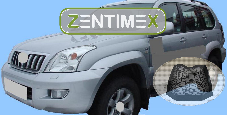 Z336911 Diamanten-Design-Kofferraumwanne Klett-Netz für Toyota Land Cruiser 12