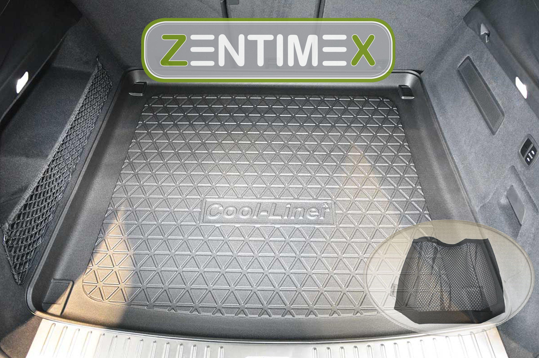 Z343095 Diamanten-Design-Kofferraumwanne Klett-Netz für Porsche Cayenne 3 PO53