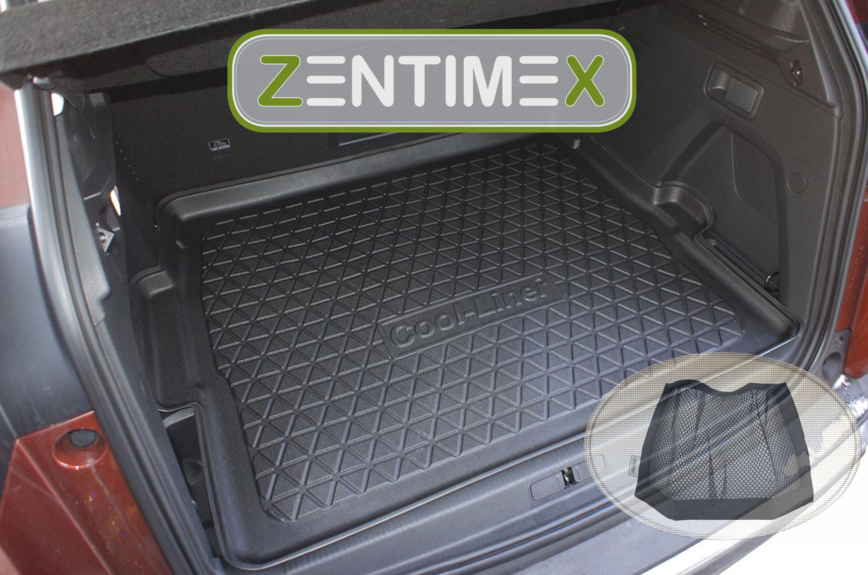 Z343033 Diamanten-Design-Kofferraumwanne Klett-Netz für DS DS7 DS 7 Crossback