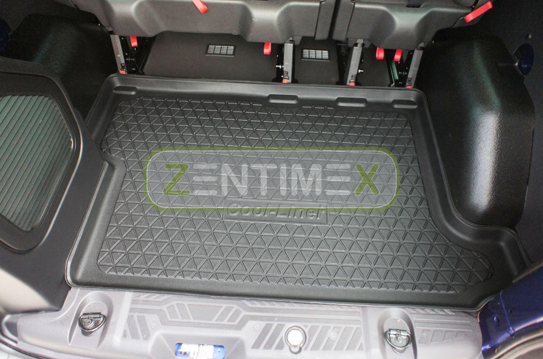 Diamanten-Design-Kofferraumwanne für Ford Transit Custom Sport Kastenwagen 2012