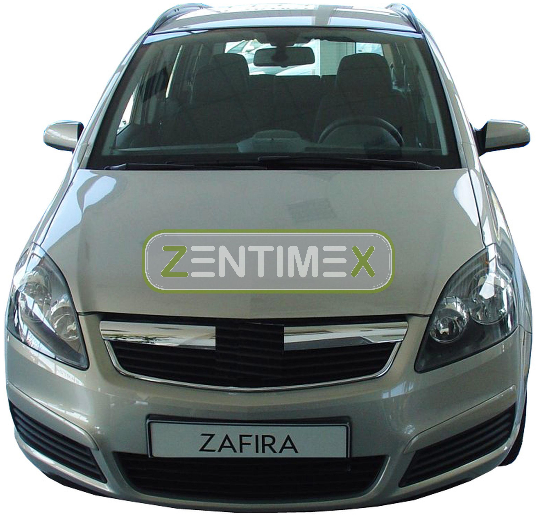Z330723 SET Kofferraumwanne Gummifußmatten für Opel Zafira B Van Kombi 5-türer 2