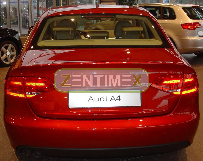 Z330002 SET Kofferraumwanne Gummifußmatten für Audi A4 B8 8K2 Vor-Facelift Limou