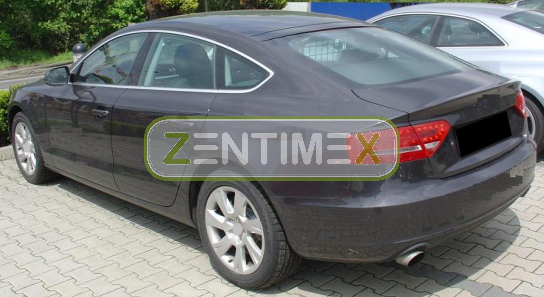Z330029 SET Kofferraumwanne Gummifußmatten für Audi A5 Sportback Quattro 1 8TA S