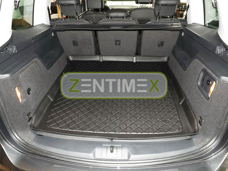 Z331180 SET Kofferraumwanne Gummifußmatten für VW Volkswagen Sharan Trendline 2