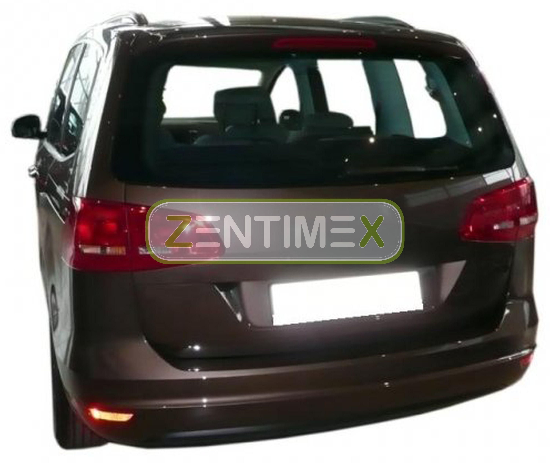 Z331141 SET Kofferraumwanne Gummifußmatten für Seat Alhambra Reference 2 Van Kom