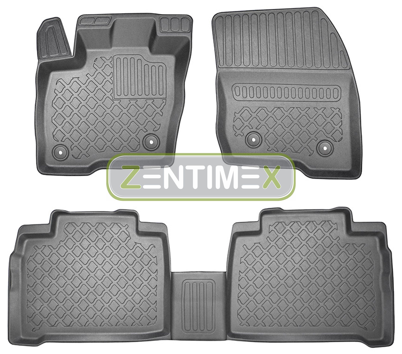 Z330287 SET Kofferraumwanne Gummifußmatten für Ford Galaxy Business Edition 3 Va