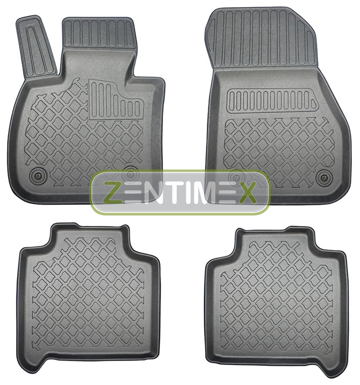 Z330133 SET Kofferraumwanne Gummifußmatten für BMW 2er Gran Tourer Sport Line F4