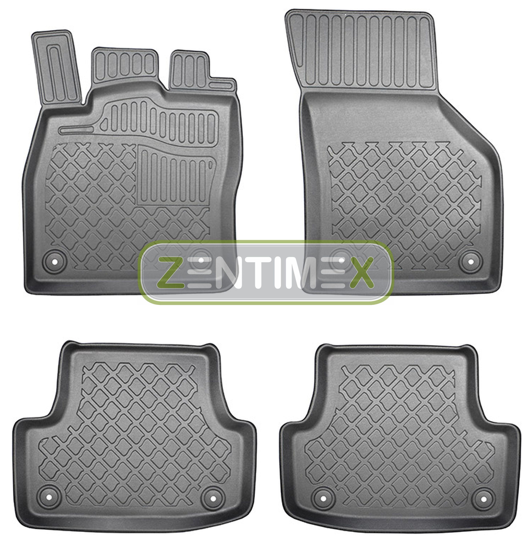 Z329953 SET Kofferraumwanne Gummifußmatten für Audi A3 Ambiente 8V Limousine Stu