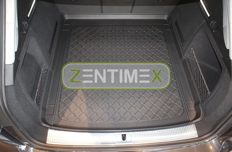 Z330032 SET Kofferraumwanne Gummifußmatten für Audi A4 Design B9 8W5 Avant Kombi