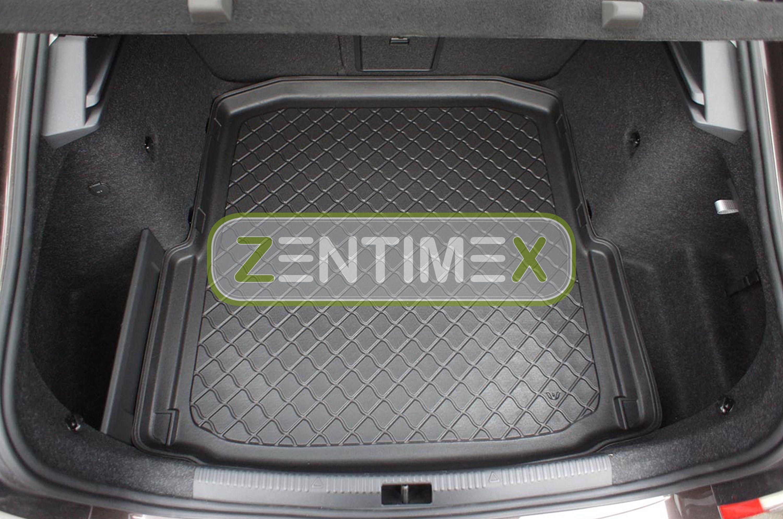 Z330787 SET Kofferraumwanne Gummifußmatten für Skoda Octavia RS 3 5E Schrägheckl