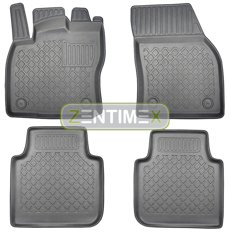 Z330780 SET Kofferraumwanne Gummifußmatten für VW Volkswagen Tiguan L Langversi