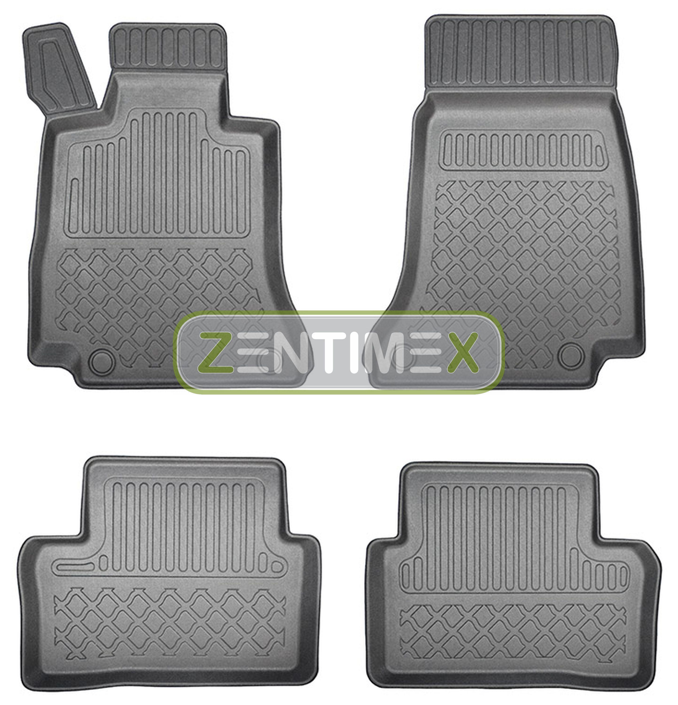 Z330485 SET Kofferraumwanne Gummifußmatten für Mercedes E-Klasse Avantgarde S213