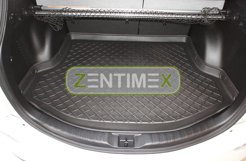 Z330819 SET Kofferraumwanne Gummifußmatten für Toyota RAV4 4 Facelift Steilheck