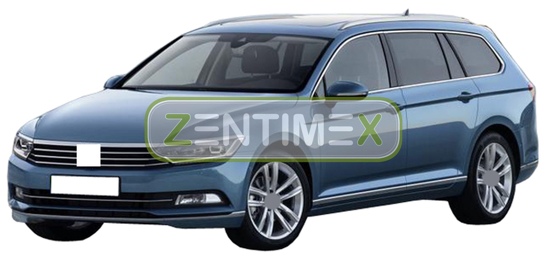 Z331137 SET Kofferraumwanne Gummifußmatten für VW Volkswagen Passat Alltrack Hig