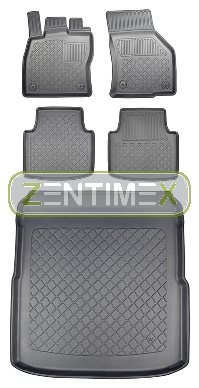 Z330829 SET Kofferraumwanne Gummifußmatten für VW Volkswagen Arteon Business Pre