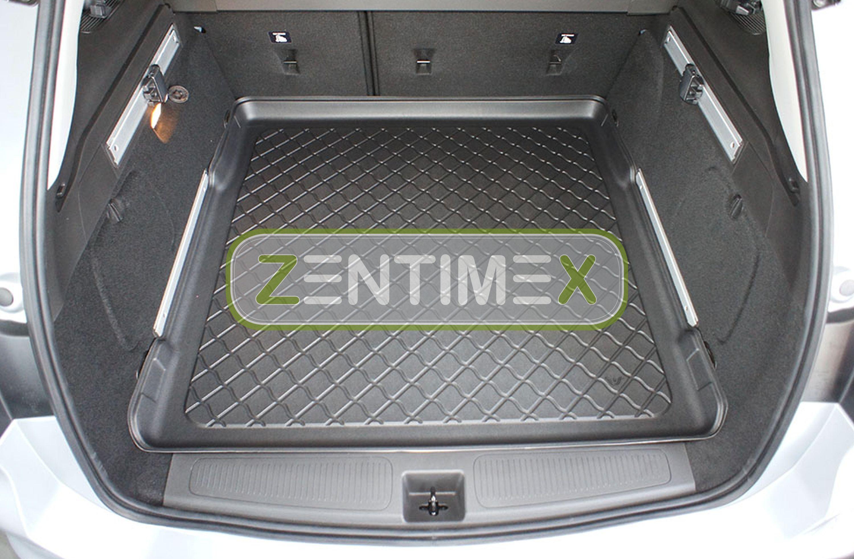 Z330655 SET Kofferraumwanne Gummifußmatten für Opel Astra ON K Sports Tourer Kom
