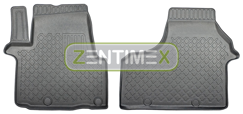 Z330720 SET Kofferraumwanne Gummifußmatten für Fiat Talento L1 Typ 296 Combi 201