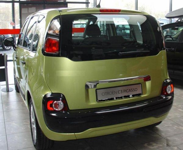 kofferraumwanne f r citroen c3 picasso facelift minivan kombi 5 t rer 2013 vert ebay. Black Bedroom Furniture Sets. Home Design Ideas