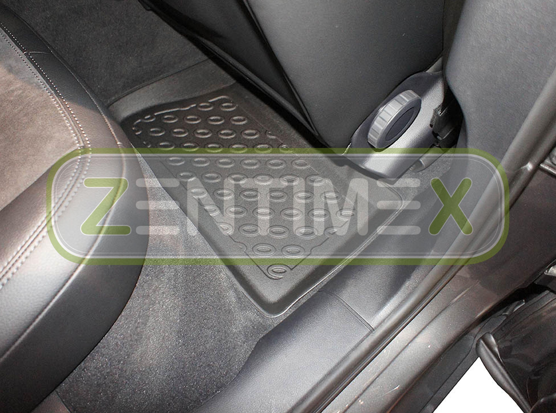 Premium-3D-TPE-Gummifußmatten für Porsche Macan S Steilheck Geländewagen SUV 530
