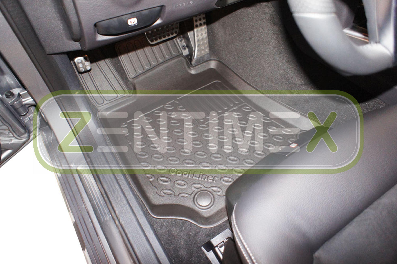 Premium-3D-TPE-Gummifußmatten für Mercedes E-Klasse Elegance S212 W212 T-Model36